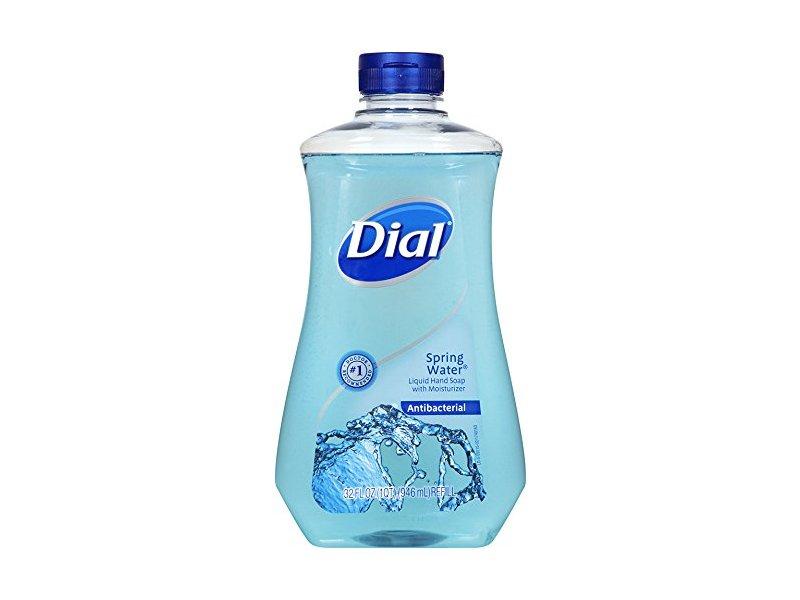 Dial Antibacterial Liquid Hand Soap Spring Water 32 Fl