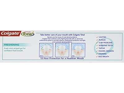 Colgate Total Toothpaste, Active Fresh, 75 mL - Image 6