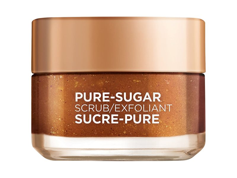 L'Oreal Paris Pure Sugar Scrub with Grapeseed to Smooth and Glow