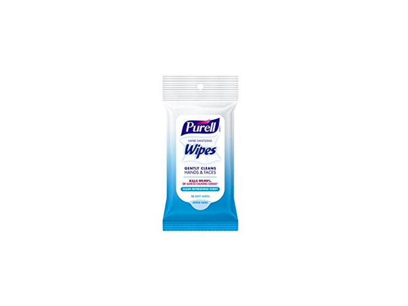 Purell Hand Sanitizing Wipes, Clean Refreshing Scent, 10 count