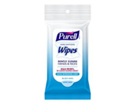 Purell Hand Sanitizing Wipes, Clean Refreshing Scent, 10 count - Image 2