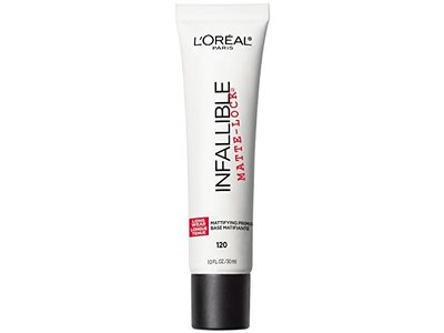 L'Oreal Paris Cosmetics Infallible Pro Matte Lock Primer, 1 Fluid Ounce