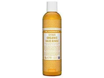 Dr. Bronner's Hair Conditioner Rinse, Citrus, 8 oz
