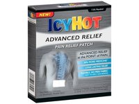 Icy Hot Advanced Relief Pain Relief Patch 4ct - Image 2