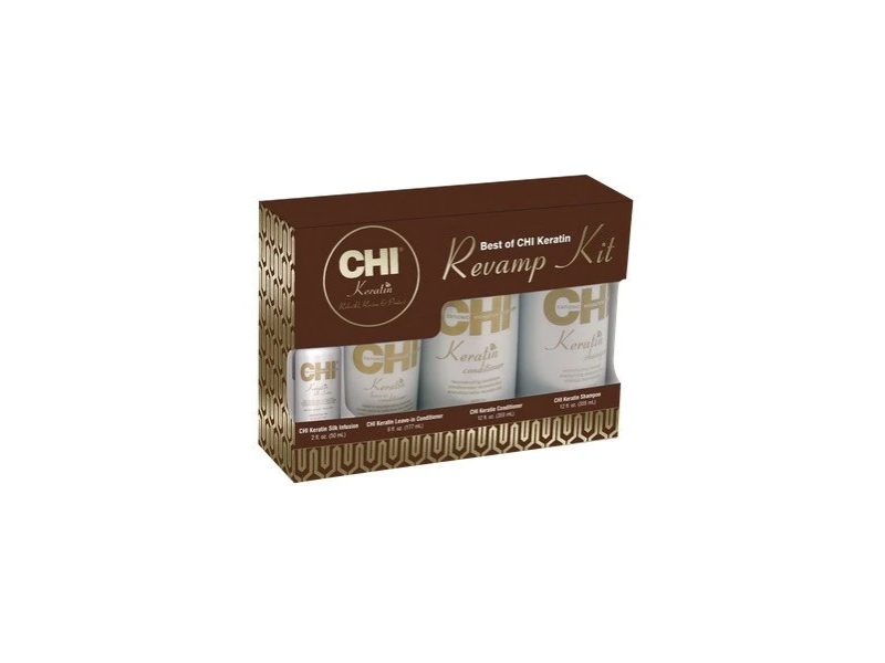 Chi Keratin Revamp Kit, 12 oz