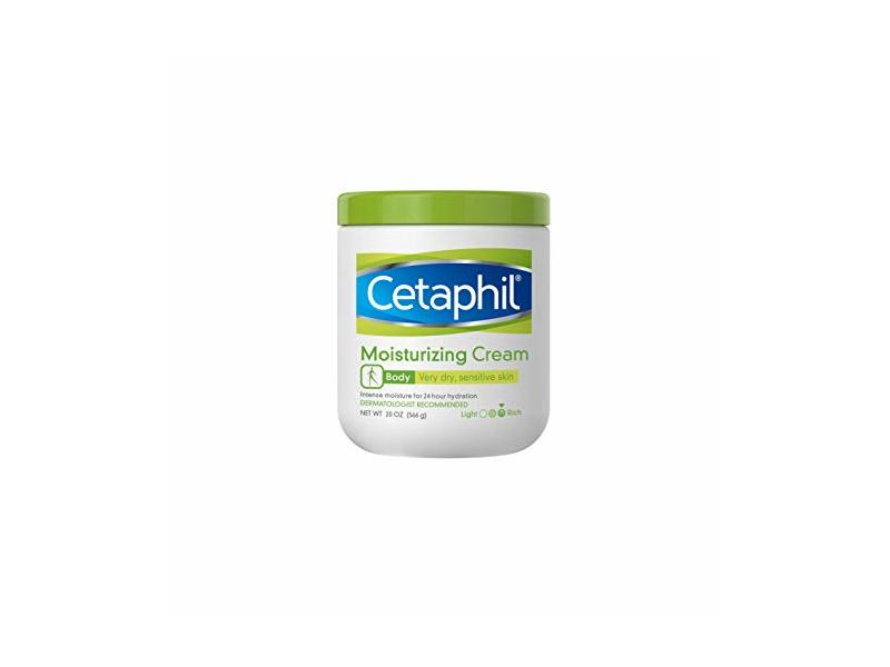 Cetaphil Moisturizing Cream For Very Dry Sensitive Skin, 20 oz/566 g