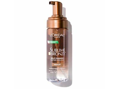 L'Oreal Paris Skin Care Sublime Bronze Hydrating Self-Tanning Water Mousse, 5 Fluid Ounce - Image 7