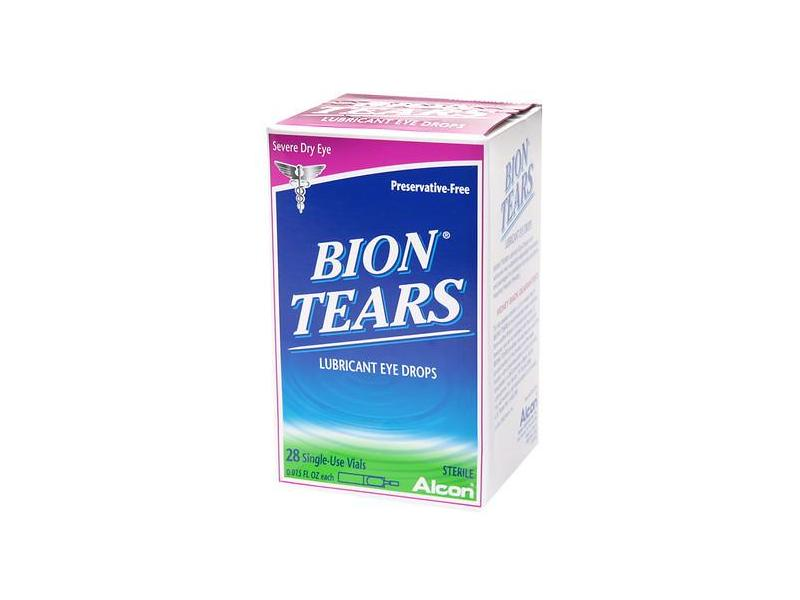 Bion Tears Lubricant Eye Drops, .015 ounce