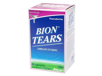 Bion Tears Lubricant Eye Drops, .015 ounce - Image 1
