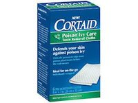 Cortaid Poison Ivy Care Toxin Removal Cloths 6 ea - Image 2