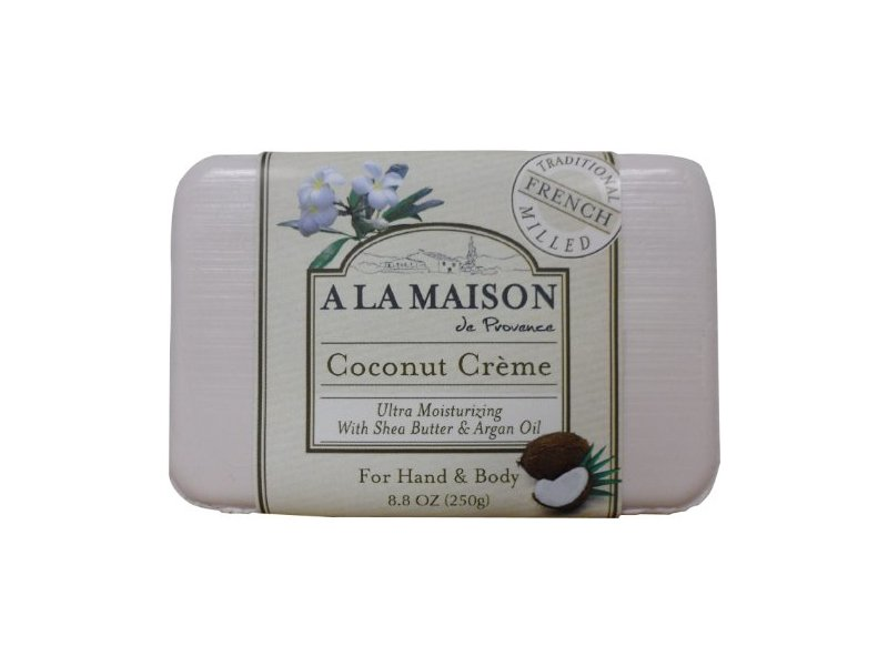 A la maison coconut creme soap ingredients and reviews for A la maison soap review