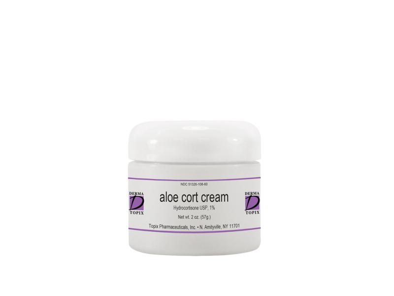 Derma Topix Aloe Cort Cream, Topix Pharmaceuticals, Inc.