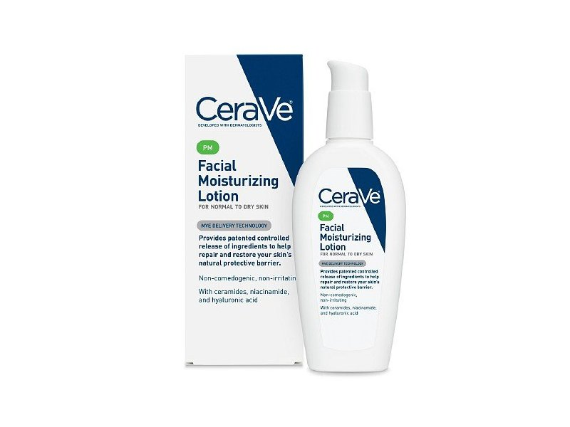 CeraVe Moisturizing Facial Lotion PM, 3 fl oz (89 mL)