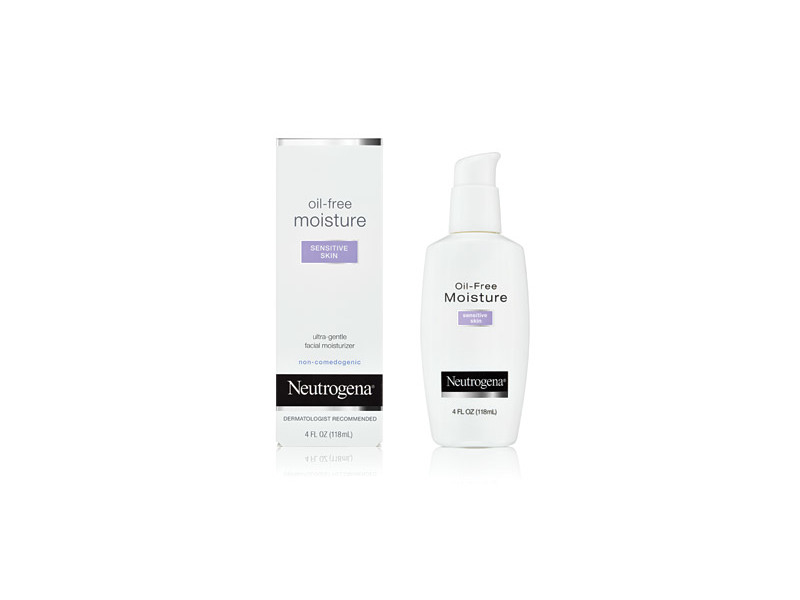 Neutrogena Oil-free Moisture, Sensitive Skin, Johnson & Johnson