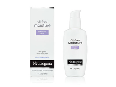 Neutrogena Oil-free Moisture, Sensitive Skin, Johnson & Johnson - Image 1