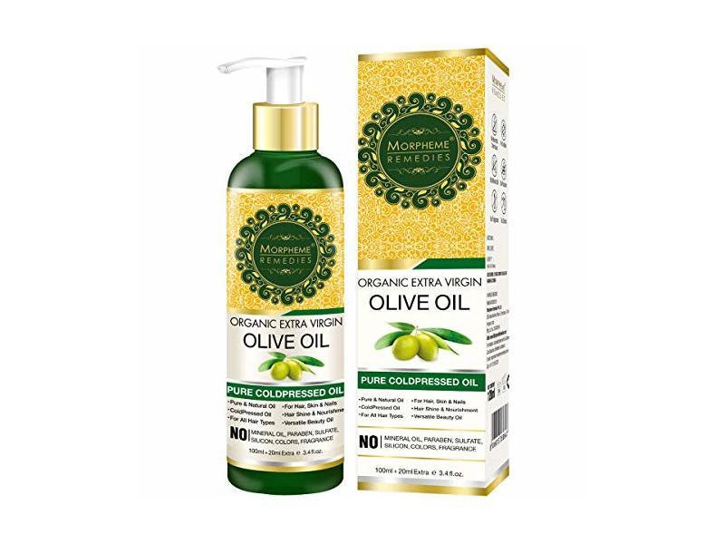 Morpheme Remedies Organic Extra Virgin Olive Oil, 120 mL