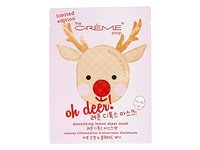 The Creme Shop - Oh Deer! Holiday Detoxifying Lemon Face Sheet Mask - 1 Count Limited Edition - Image 2