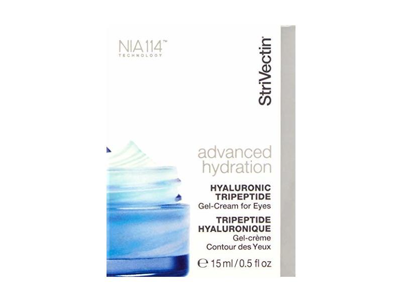StriVectin Hyaluronic Tripeptide Gel-Cream for Eyes, 0.5 fl oz/15 mL