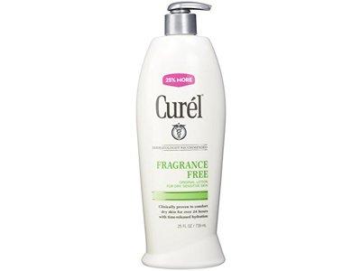 Curel Lotion, Fragrance Free, 25 oz