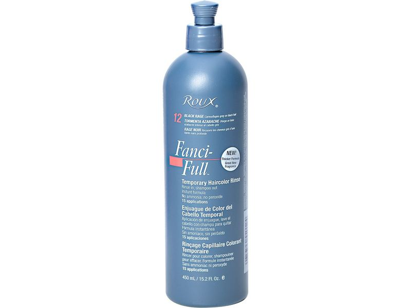 Roux Fanci-full Temporary Color Rinse Black Rage, Colomer USA, Inc