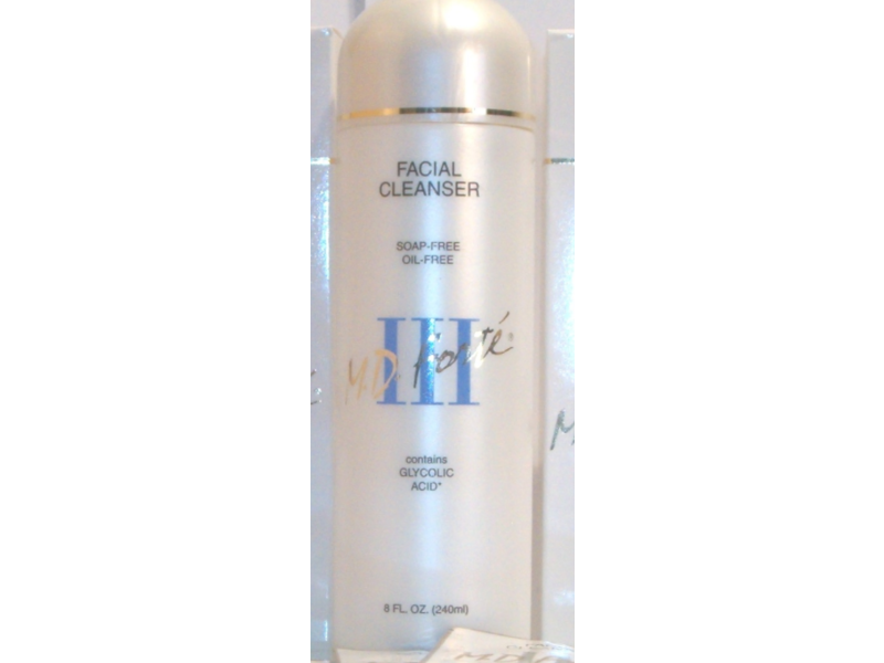 M.D. Forte Facial Cleanser II, 8 fl oz