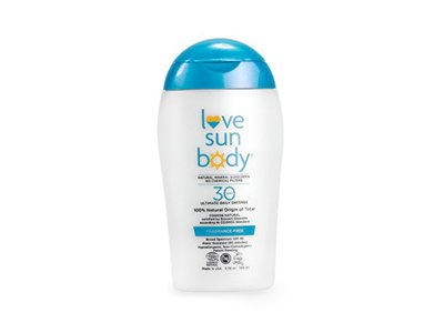 Love Sun Body 100% Natural Origin Mineral Sunscreen SPF 30 Fragrance-Free 3.38 oz