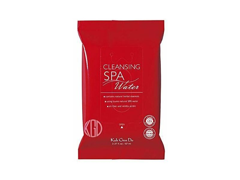 Koh Gen Do Cleansing Spa Water Makeup Remover Cloths, 10 ct