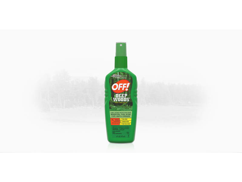 Off Deep Woods Insect Repellent VII, 9 fl oz