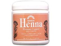 Rainbow Henna Hair Color & Conditioner, Copper (Red Copper), 4 oz - Image 2