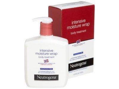 Neutrogena Norwegian Formula, Intense Moisture Wrap, Body Treatment, Fragrance Free, 10.5 Ounce (Pack of 2) - Image 1