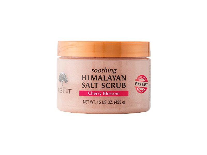 Tree Hut Himalayan Salt Scrub, Cherry Blossom, 15 Ounce
