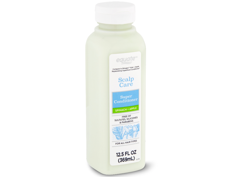 Equate Scalp Care Super Conditioner, Spinach + Apple, 12.5 fl oz