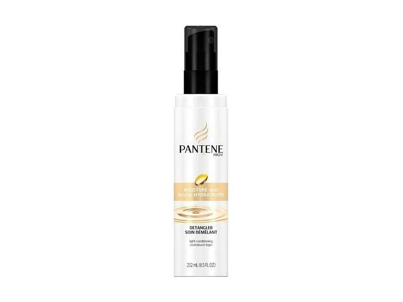 Pantene Pro-V Moisture Mist Hair Detangler Light Conditioning 8.5 oz (Pack of 6)