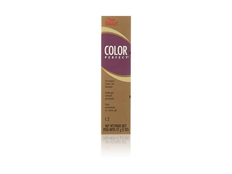 Wella Color Perfect Permanent Creme Gel Haircolor, 2 oz/ 0.57 g