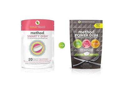 Method Smarty Dish Dishwasher Tablets, Pink Grapefruit, 20 Count - Image 5