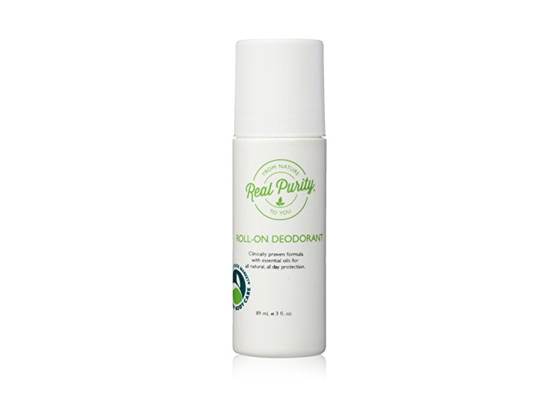 Real Purity Roll-On Natural Deodorant, 3 fl oz