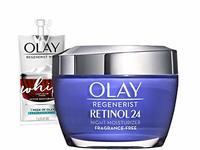 Olay Regenerist Retinol Moisturizer, Retinol 24 Night Face Cream, 1.7oz - Image 2