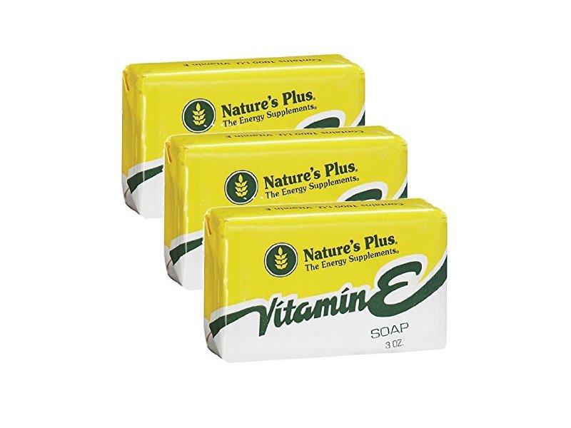 Nature's Plus Vitamin E Soap, 3 oz
