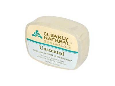 Clearly Natural Glycerin Soap, Unscented, 4 oz