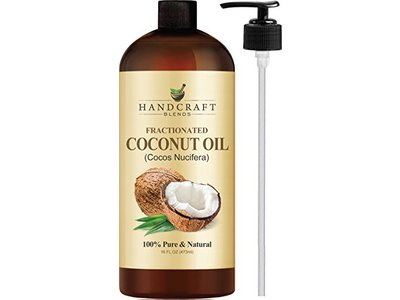 Handcraft Blends Fractionated Coconut Oil, 16 oz