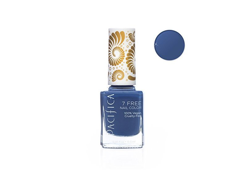 Pacifica 7 Free Nail Polish, 1972 Pool Party, 0.4 fl oz