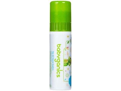 Babyganics Lip & Face Balm, Fragrance Free, 0.25 oz - Image 1