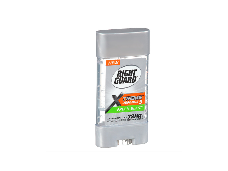 Right Guard Xtreme Defense Power Gel Antiperspirant & Deodorant, Fresh Blast, 4 oz