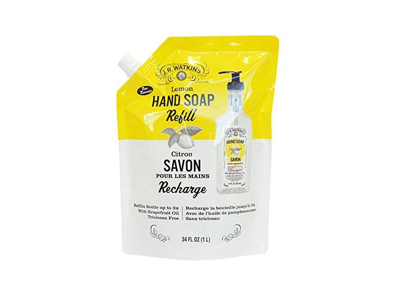 J.R. Watkins Gel Hand Soap, Lemon, 34 oz