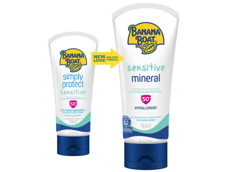 Banana Boat Simply Protect Sensitive Skin SPF 50 Lotion