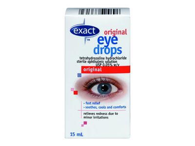 Exact Original Eye Drops, 15 mL