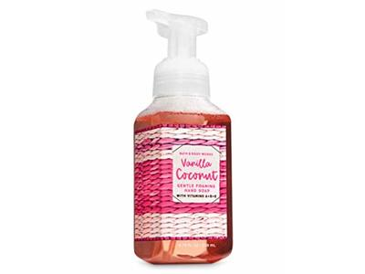 Bath & Body Works Vanilla Coconut Gentle Foaming Hand Soap, 8.75 fl oz