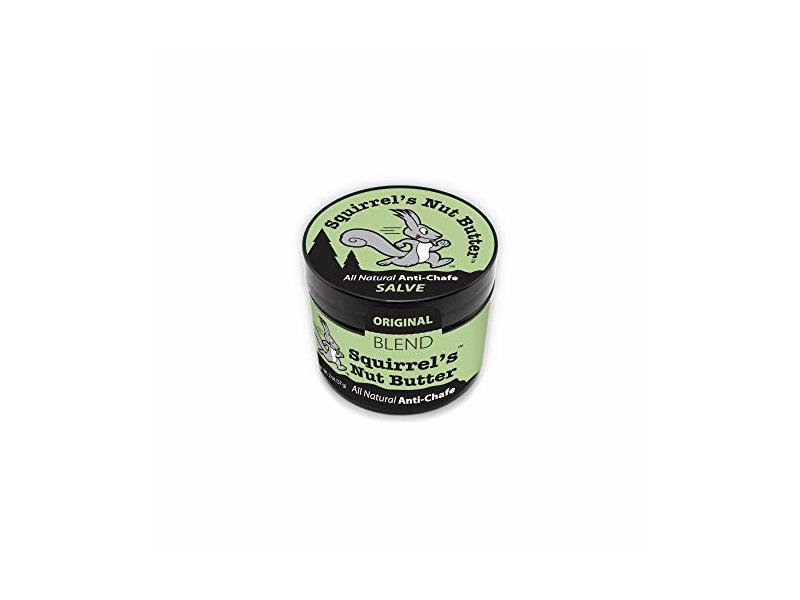 Squirrel's Nut Butter All Natural Anti Chafe Salve, Tub, 2 oz