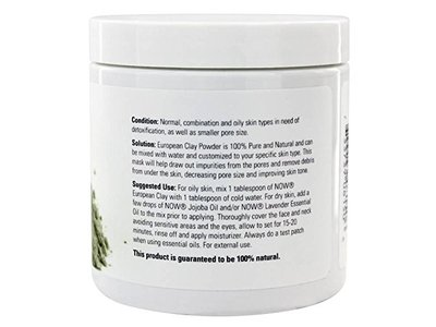 Now Solutions European Clay Powder Facial Cleanser, 14 oz - Image 3