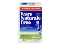 Tears Naturale Eye Drops, 24 count - Image 2